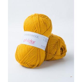Fil à tricoter Phildar lambswool gold