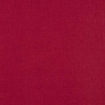 Tissu coton uni Cristina rouge cardinal