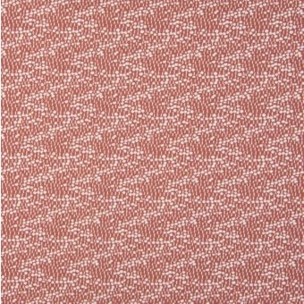 Maille jersey bio extensible mini pois rose