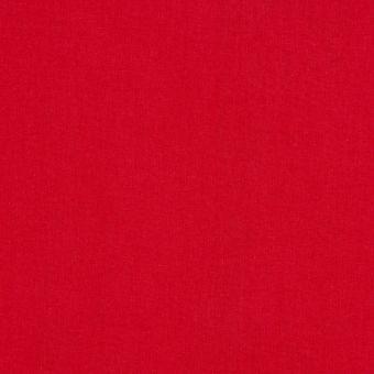 Tissu coton uni Cristina rouge