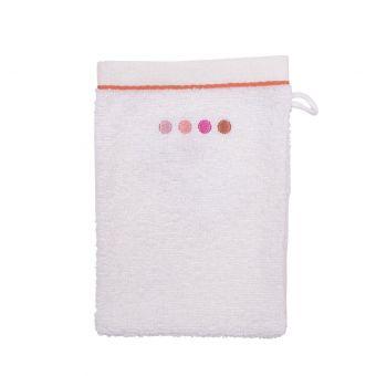 Gant de toilette Galaxie rose