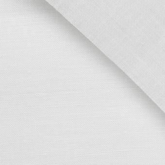 Toile de lin 12 fils à broder au mètre - Blanc