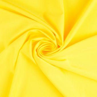 Tissu polyamide uni très extensible jaune