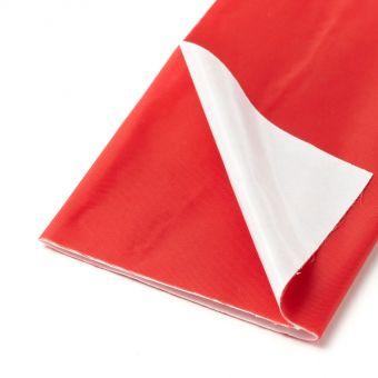 Pièce thermocollante nylon rouge