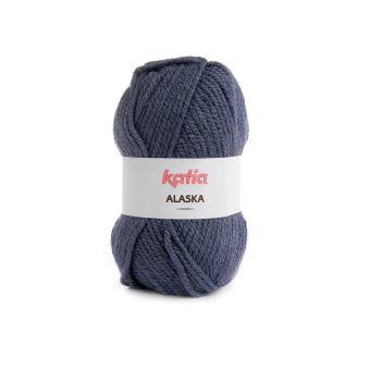 Pelote de fil à tricoter Alaska bleu jeans