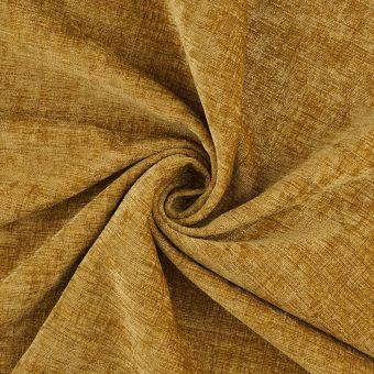 Tissu velours chenille Clooney or