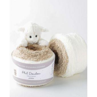 Fil à tricoter Phildar doudou ourson