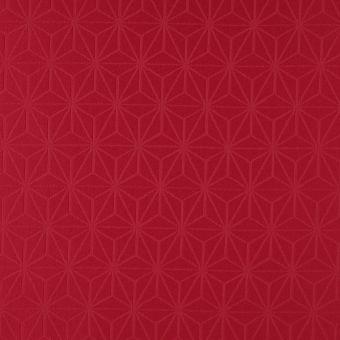 Tissu nappage Orlando déperlant rouge
