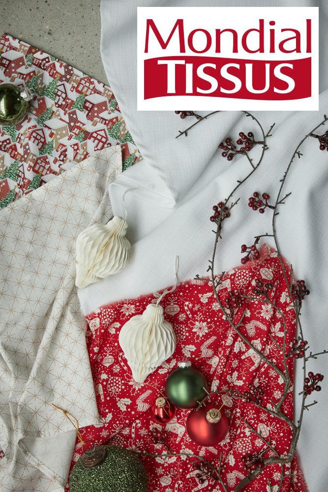 Tissu Noël Darlana