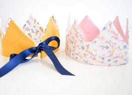 Tuto couronne tissu