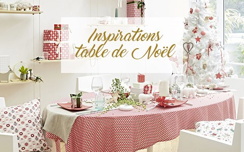 Inspirations table de noël